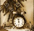 Vintage new year still life