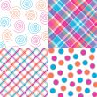 Four Bright Patterns