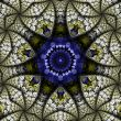 Ornate Kaleidoscopic Abstract