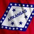 Arkansas Flag Closeup