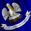 Louisiana Flag Closeup