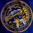 Nebraska Flag Closeup