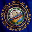 New Hampshire Flag Closeup