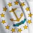 Rhode Island Flag Closeup