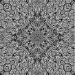 Dry ground kaleidoscope-background