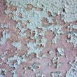 Surface of painted peeled wall