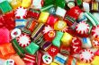 Colorful candy mix