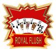 poker royal flush logo