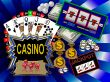 casino symbols background