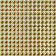 3D Golden Dots