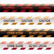 crime scene tape modern