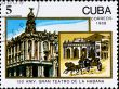 postage stamp celebrate 150 anniversary theater in Havana