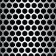 aluminium seamless pattern wit round holes