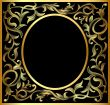 vegetable  gold  pattern frame