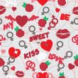 valentine seamless pattern wallpaper