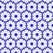 Seamless blue wallpaper pattern