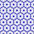 Seamless blue wallpaper pattern