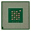 processor with gold contact